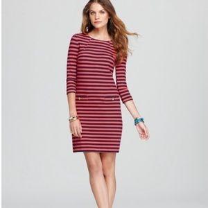 Lilly Pulitzer Charlene Pink & Blue Striped Dress